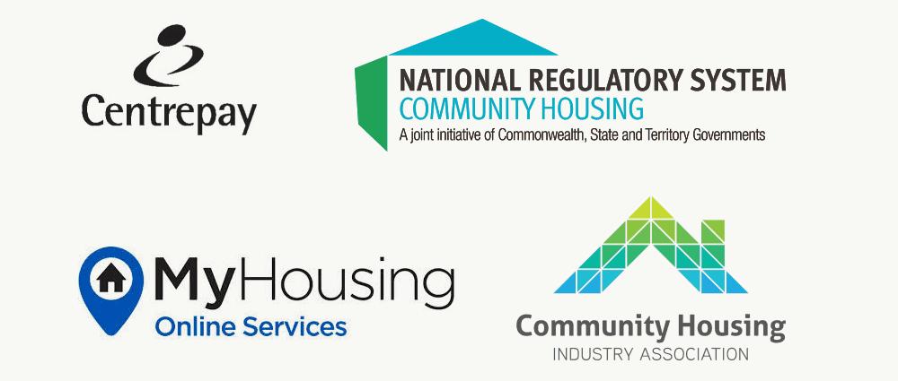 Civic housing partner logos