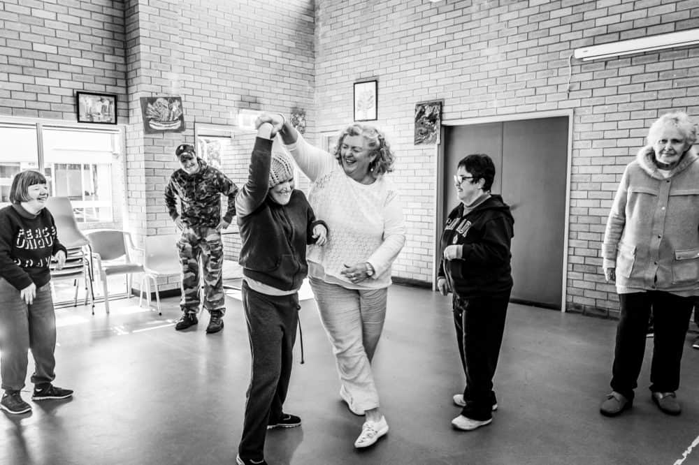 Civic Sutherland Community Hub dancing