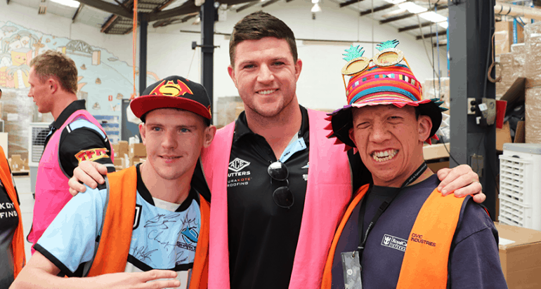 Cronulla sharks visit Civic