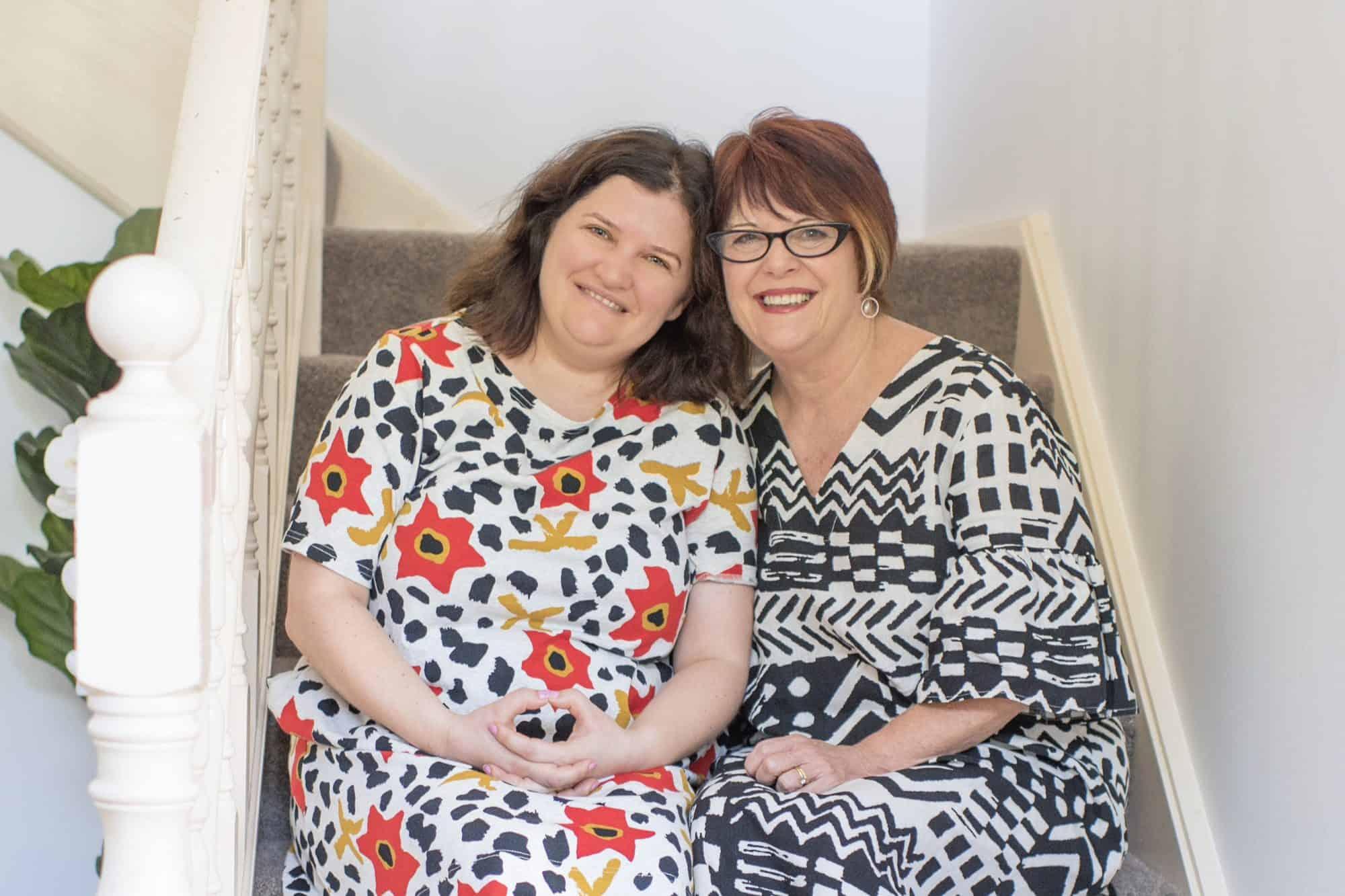 Lauren Archer and mum Narelle