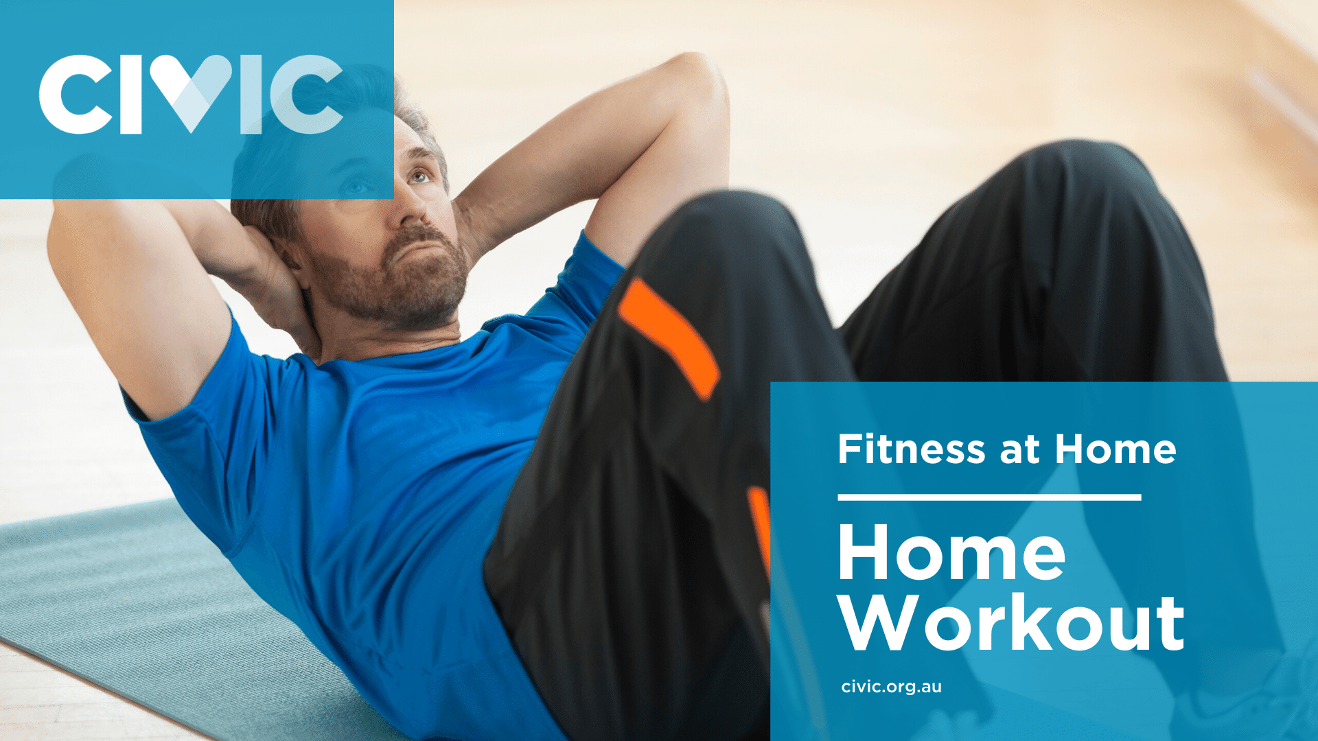 Home workout videos banner