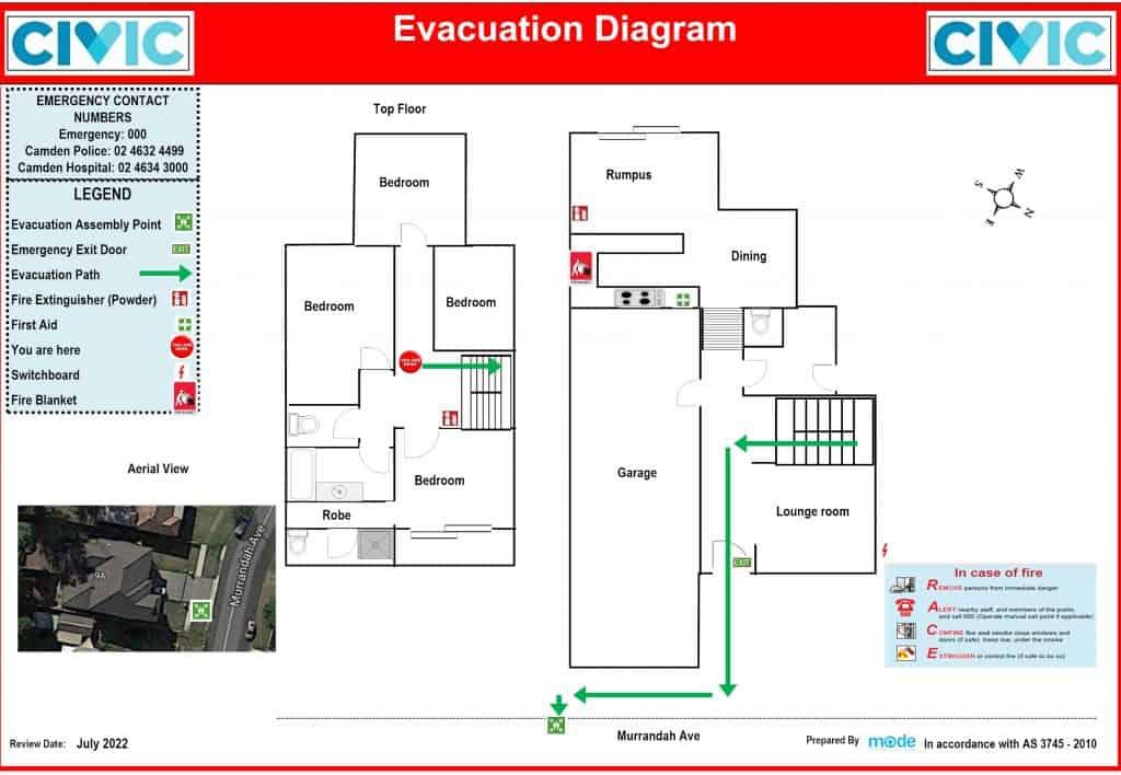 Civic home camden-Floor Plan