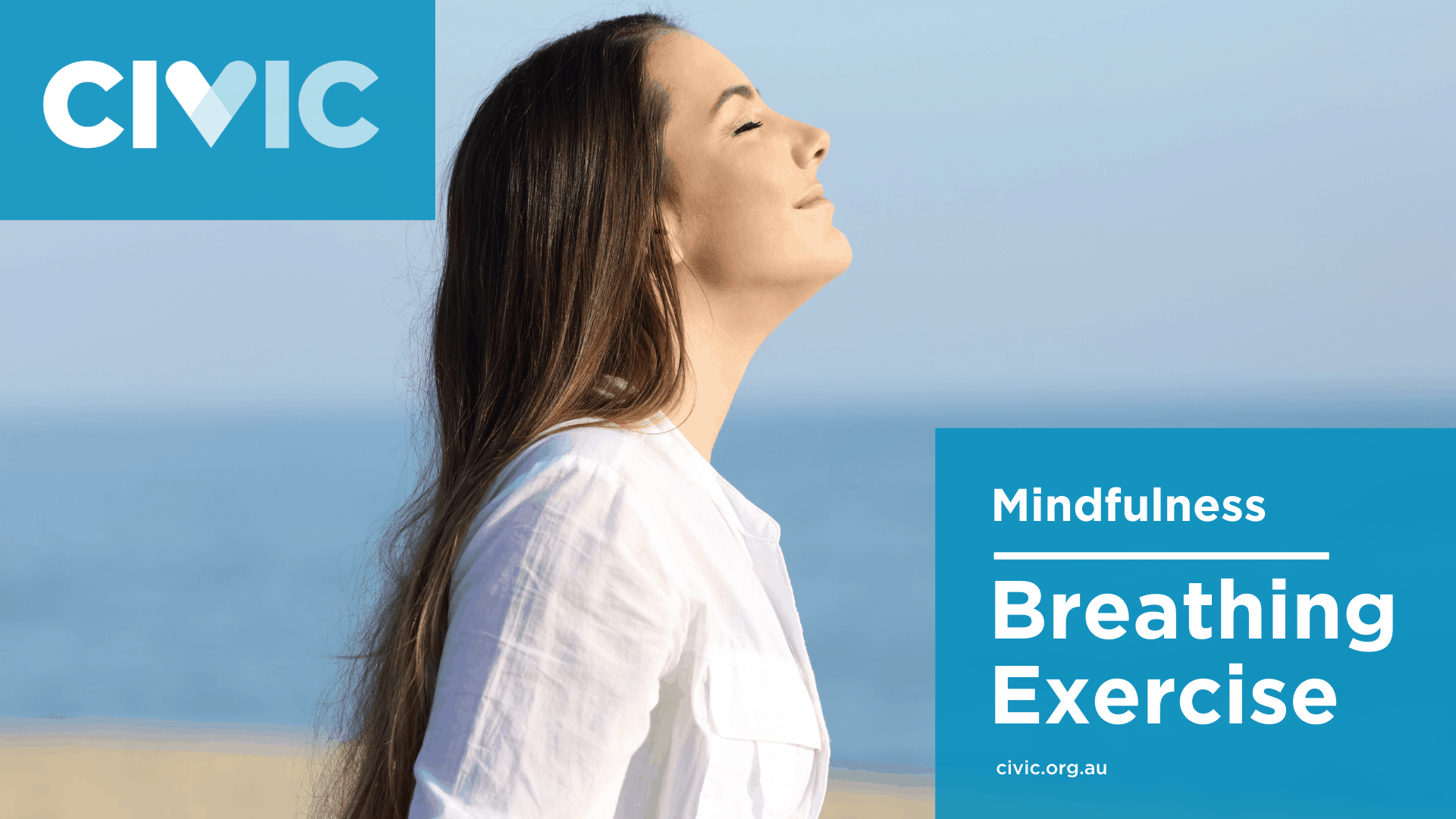 breathing exercise class banner